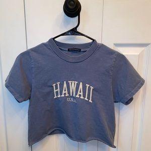 Hawaii USA Cropped T-shirt
